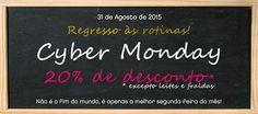 Amostras e Passatempos: Cyber Monday Skin: Regresso às Rotinas