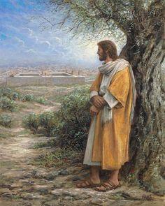 God and Jesus Christ Jon Mcnaughton, Jesus Reyes, Thought Pictures, Christian Artwork, Lds Art, Jesus Painting, Litho Print, Biblical Art, Jesus Art