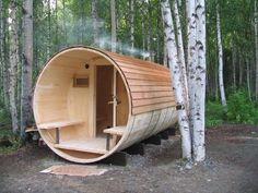 alaska round cabin
