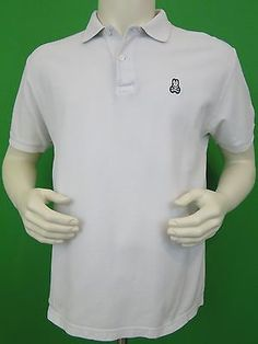 Psycho-Bunny-Mens-Shirt-Polo-Size-6-Large-L-White-EUC