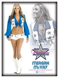 Megan College Cheerleading, Cheerleading Pictures, Nfl Football Players, Football Stuff, Dallas Cowboys Pictures, Redskins Cheerleaders, Nfl Photos, Professional Cheerleaders, Making The Team