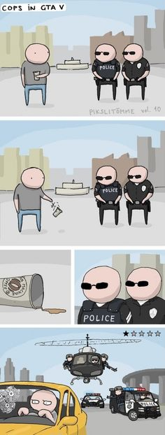 La lógica de la poli...