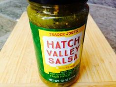 Hatch Valley Salsa | Trader Joes easy, healthy, quick recipes for dinner, occasions, breakfast and lunch meal ideas