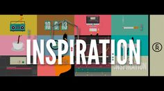 "The bouts of procrastination and productivity that make up the creative process are cleverly depicted in the short animation ""Inspiration"" by artist Rafa Galeano. via Vimeo Staff Picks"