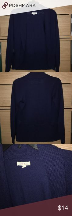 NWOT navy cardigan. Never worn, but took the tags off. Sweaters Cardigans