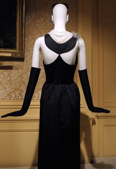 Black Dress by Givenchy for Audrey in Breakfast at Tiffany's.