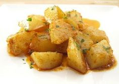 Patatas al ajillo (THX) Easy Cooking, Cooking Recipes, Healthy Recipes, Diet Recipes, Tapas, Mexican Food Recipes, Ethnic Recipes, Vegetable Recipes, Potato Recipes
