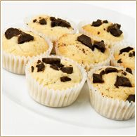Chocolate Chip Grand Marnier Muffins - made with Florida Crystals® Milled Cane Sugar