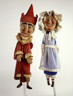 Punch and Judy hand puppets: 20th century, Unknown