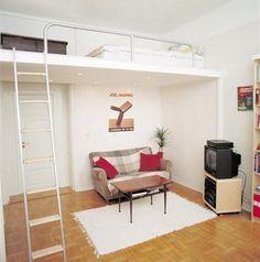 bedroom loft designs on Space Saving Bedroom Idea     Loft Bed Design