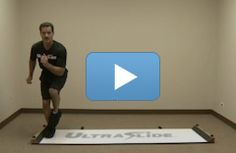 Slide board is another popular piece of equipment at the gym.