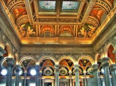The Library of Congress is the largest library in the entire world as ranked by both shelf space and number of books