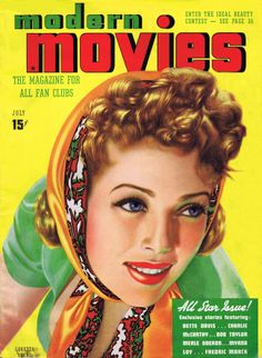Modern Movies, July 1938 : Loretta Young