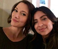 Alex Danvers and Maggie Sawyer #Supergirl #Sanvers