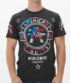 American Fighter Silver Lake T-Shirt at Buckle.com #flag