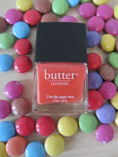 #butterLONDON #jaffa #beauty #sweets #nailpolish