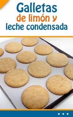 Galletas de limón y leche condensada