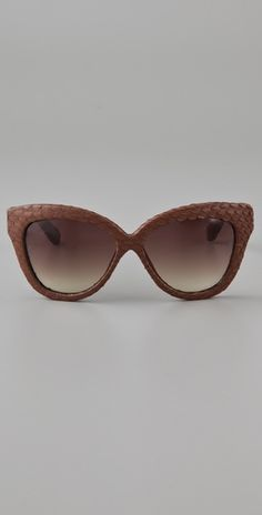 LOVE!    Sunglasses by Linda Farrow