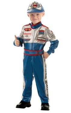 Toddler Boys Speedway Superstar Race Car Driver Costume - Party City