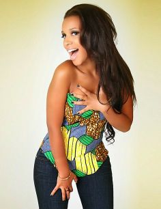 JEANS AND KITENGE TOP, IT LOOKS NICE - The Click Styles