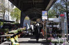 Hamburg Wochenmarkt, Eppendorf: Isemarkt - Fräulein Anker