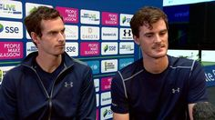 Andy and Jamie Murray reflect on 'great year' - BBC Sport