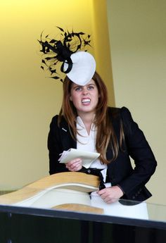 Princess Beatrice HRH Princess Beatrice cheers on horses from the Royal Box during the first day of Royal Ascot on June 17, 2008 in Ascot, England.