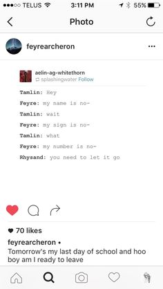 I laugh every time I read this because I just picture Rhys sassily swinging his his and waving his finger in Tamlin's face xD