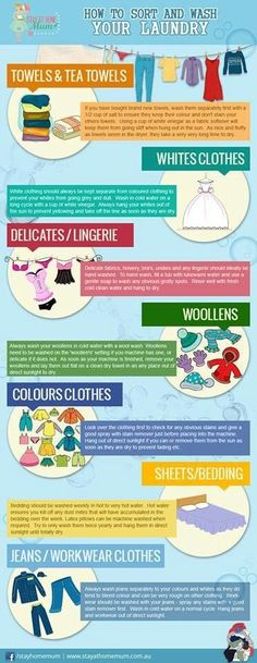 How To Sort & Wash Laundry