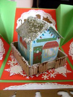 pudełko z domkiem więcej na www.kasartt.blogspot.com