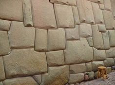 No doubt one of the most impressive ancient sites. Huge irregular stones fit together so perfectly you can't slip a knife blade in between them, Incan architecture, Cuzco.