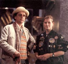 With 7 days until the 50th, it's worth remembering that the Seventh Doctor (Sylvester McCoy) and Ace (Sophie Adlred) were amazing. | (14) Tumblr