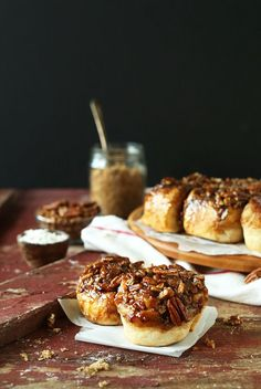 Vegan Sticky Buns with a Pecan-Brown Sugar Glaze | 9 ingredients, 1 rise and SO delicious!