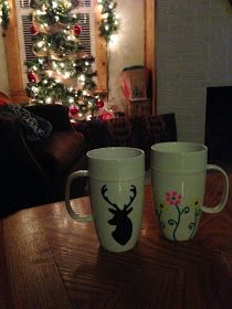 Oil base sharpens for gift mugs