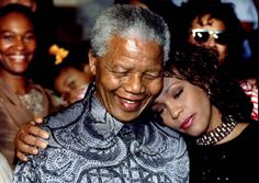 Nelson Mandella and Whitney Houston...2 of God's angels called home