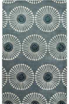 gray ripple rug