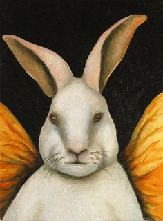 rabbit Painting - Google Search