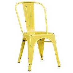 Industrial Stackable Metal Side Chair | Overstock.com Shopping - The Best Deals on Dining Tables