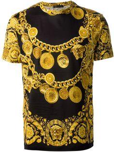 Printed Versace Shirt