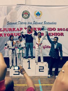 #silvermedals #kejurkabtaekwondosleman2014 #U49 #tryagainandagain #keepkick
