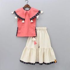 Indian Wear, Ethnic Wear for Girls Stylish Dresses For Girls, Little Girl Dresses, Girls Dresses Sewing, Baby Dresses, Lovely Dresses, Prom Dresses, Kids Dress Wear, Kids Gown, Kids Wear