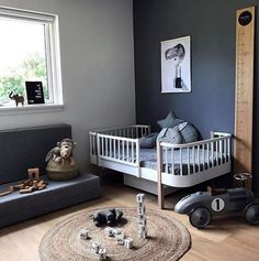 New Baby Room Decoration Ideas Baby Room Design, Baby Room Decor, Nursery Room, Boy Room, Kids Bedroom, Nursery Decor, Baby Kind, Kid Spaces, Kid Beds