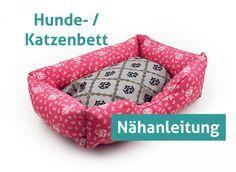Nähanleitung Hundebett Hund Katze Bett Sofa ebook Katzenbett Kissen Schlafplatz