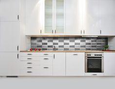 Aluminum Kitchen Backsplashes | stainless steel weave Screen Printed Designs