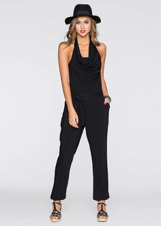 Kombinezon bez pleców // Backless overalls    #kombinezon #overalls #fashion #moda #womensfashion #womenwear Jumpsuit, Dresses, Style, Products, Fashion, Black Jumpsuit, Fashion Ideas, Overalls, Vestidos