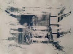 Cyanotype  24x32  Nude  Wallart  Dekor  Sensual  von MSPhotographie #cyanotypie #women #print #nude #sensual #Cyanotype