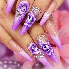 Pipe nails | edge nails | nail art ideas | unas