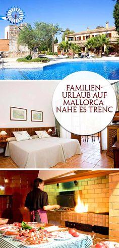 Familienurlaub auf Mallorca - hier finden Kinder neue Freunde, können auf dem Spielplatz oder im großen Pool plantschen und Eltern finden Zeit für Zweisamkeit und Erholung. Das prefekte Hotel für Familien, die ein ruhiges Domizil abseits des Massentourismus suchen, ist das Son Marge auf Mallorca - das beste: Der beliebte Karibikstrand Es Trenc ist nur wenige Kilometer vom Hotel entfernt! #urlaub # mallorca #kleineshotel #familienfreundlich #fincahotel #urlaubmitkind #fincahotel