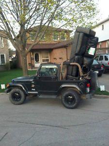 2002 Jeep TJ Sahara Wrangler