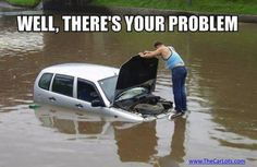 #TheCarLots offers a Lifetime Engine Warranty.  Sorry, cars in lakes not covered. www.thecarlots.com